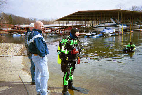how to use a drysuit for diving